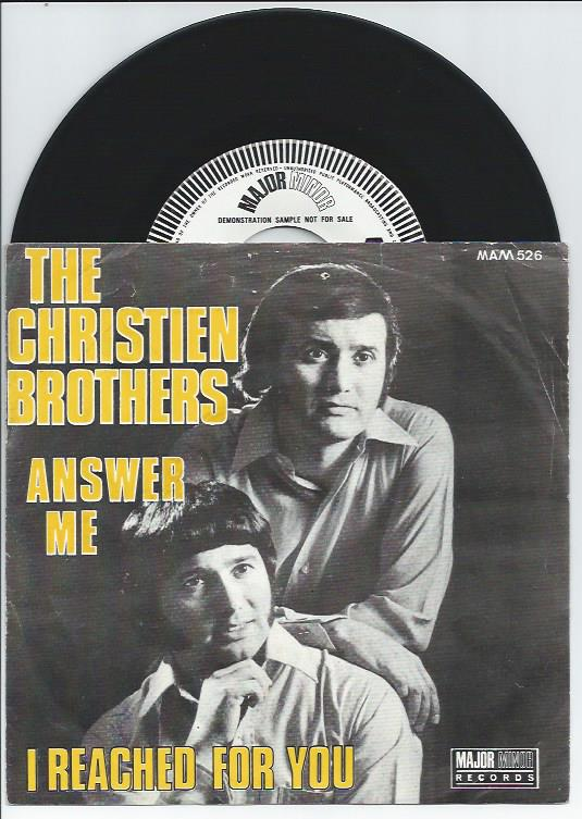 "THE CHRISTIEN BROTHERS ""Answer me"" (promo)"