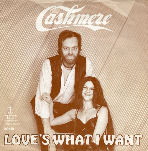 "CASHMERE ""Love's what I want"""