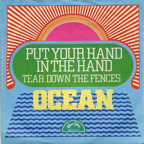 "OCEAN ""Put your hand in the hand"""
