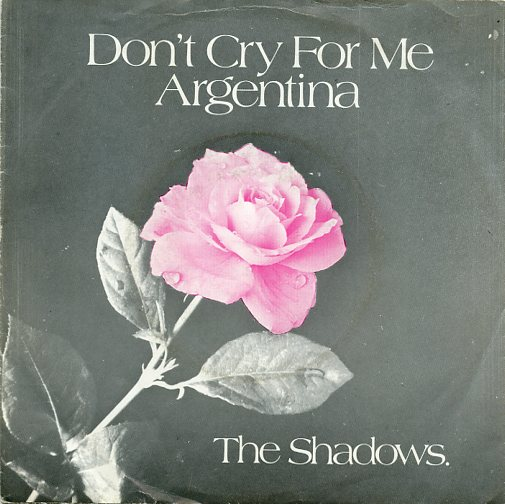 "SHADOWS ""Don't cry for me Argentina"""
