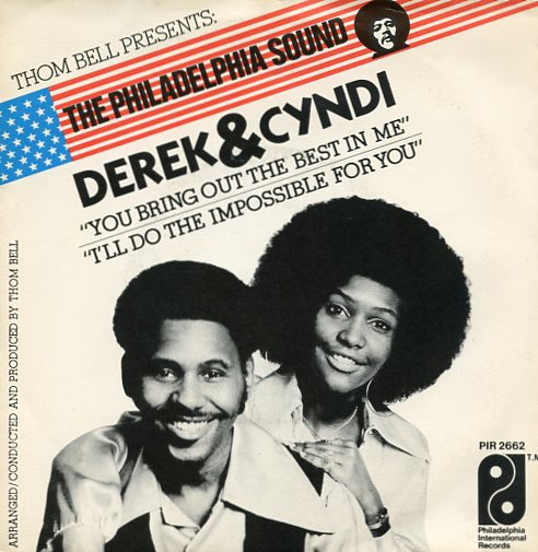 "DEREK & CYNDI ""You bring out the best in me"""