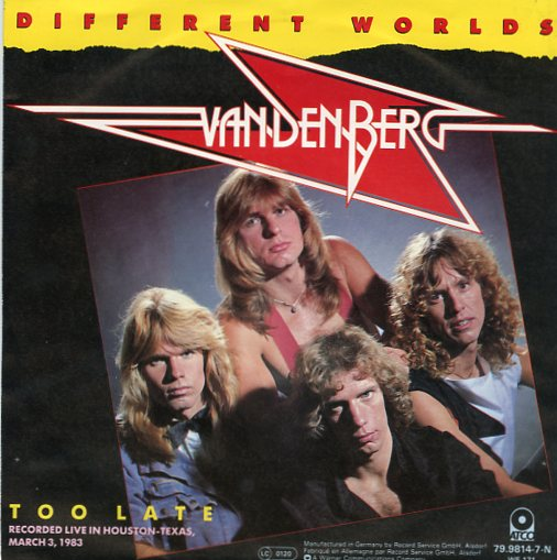 "VANDENBERG ""Different worlds"""