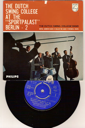 "DUTCH SWING COLLEGE BAND ""DSC at the Sportpalast Berlin vol. 2"