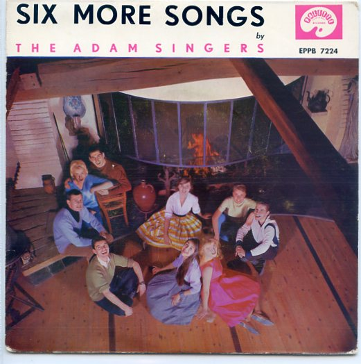 "ADAM SINGERS ""Six more songs"" EP"
