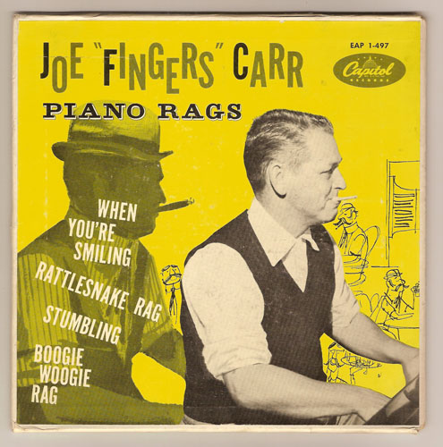 "JOE ""FINGERS"" CARR ""Piano Rags"" EP"