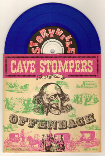 "CAVE STOMPERS ""Cave Stompers meet Offenbach"" EP"
