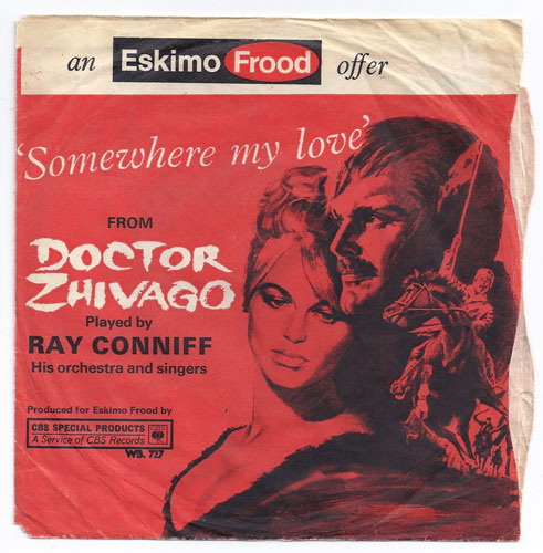 "RAY CONNIFF ""Somewhere my love"" (eng)"