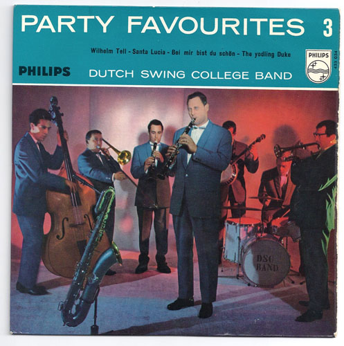 "DUTCH SWING COLLEGE BAND ""Party Favourites vol. 3"" EP"