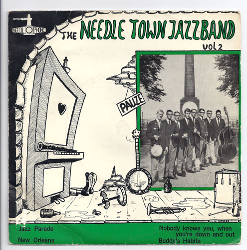 "NEEDLE TOWN JAZZBAND ""The needle Town Jazzband vol. 2"" EP"