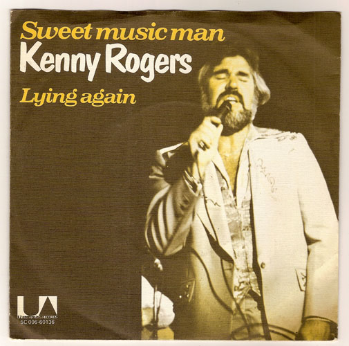 "KENNY ROGERS ""Sweet music man"""