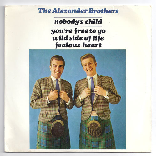 "ALEXANDER BROTHERS ""Nobody's child"" EP"