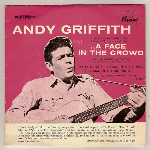 "ANDY GRIFFITH ""A face in the crowd"" EP (DK)"