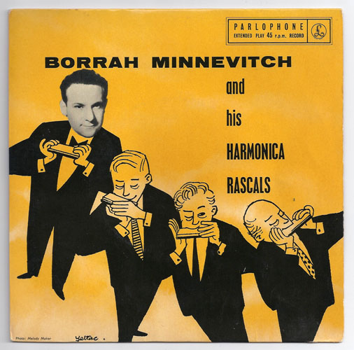 "BORRAH MINNEVITCH ""Tea for two"" EP"