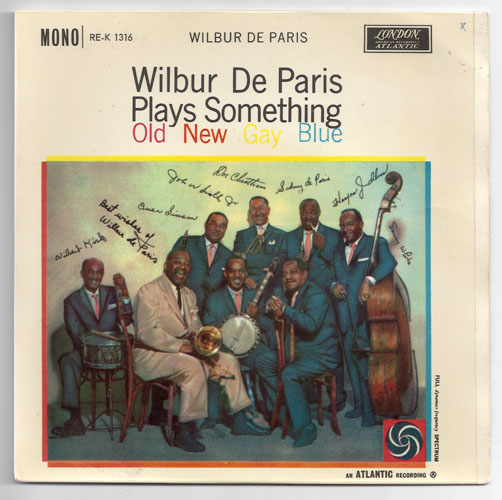 "WILBUR DE PARIS ""Something old new gay blue"" EP"