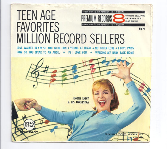 TEEN AGE FAVORITES MILLION RECORD SELLERS 8