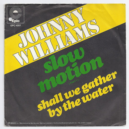 "JOHNNY WILLIAMS ""Slow motion"""