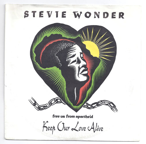 "STEVIE WONDER ""Keep our love alive"""
