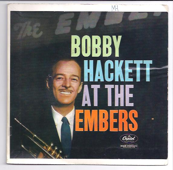 "BOBBY HACKETT ""Bobby Hackett at the Embers"" EP"