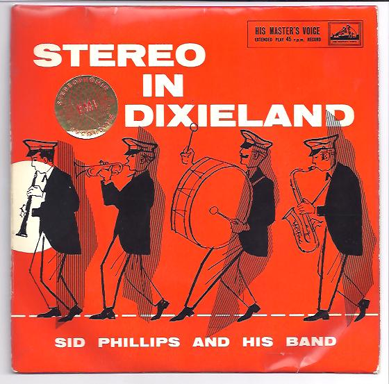 "SID PHILLIPS & HIS BAND ""Stereo in Dixieland"" EP"