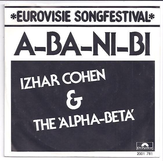 "IZHAR COHEN & THE ALPHA-BETA ""A-ba-ni-bi"" 1978"