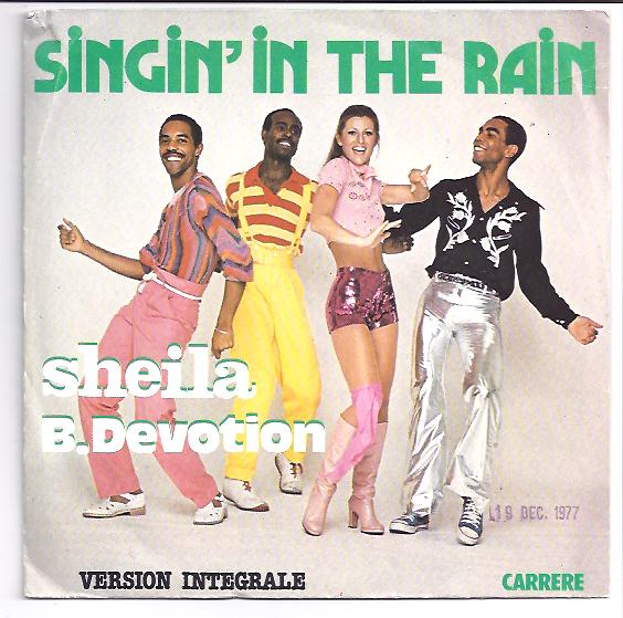 "SHEILA B.DEVOTION ""Singin' in the rain"""