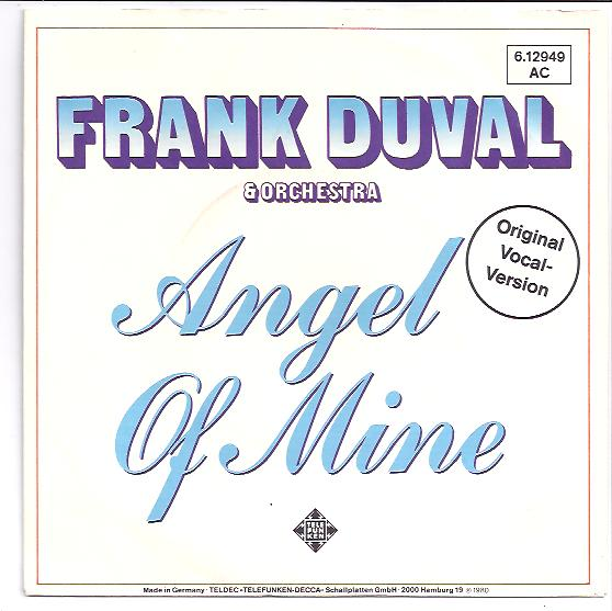 "FRANK DUVAL & ORCHESTRA ""Angel of mine"""