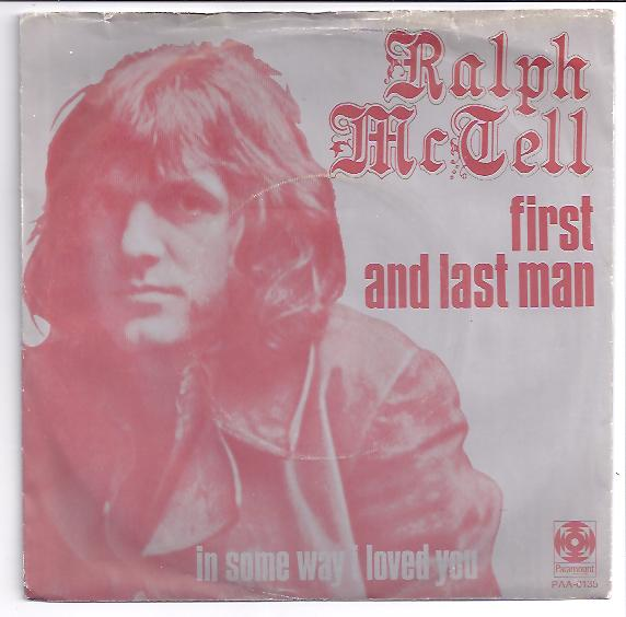 "RALPH McTELL ""First and last man"""