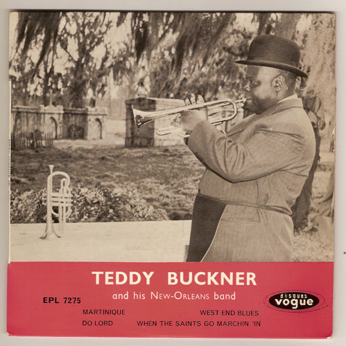 "TEDDY BUCKNER & HIS NEW ORLEANS BAND ""Martinique"" EP"