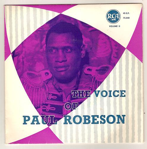 "PAUL ROBESON ""The voice of, vol. II"" EP"