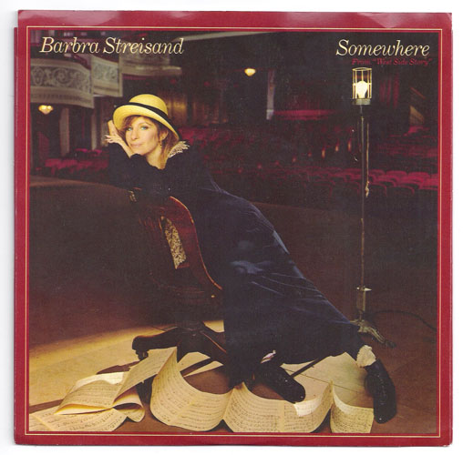 "BARBRA STREISAND ""Somewhere"""
