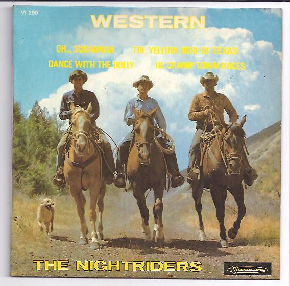 "NIGHTRIDERS ""Western"" EP"