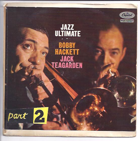 "BOBBY HACKETT & JACK TEAGARDEN ""Jazz ultimate part 2"" EP"