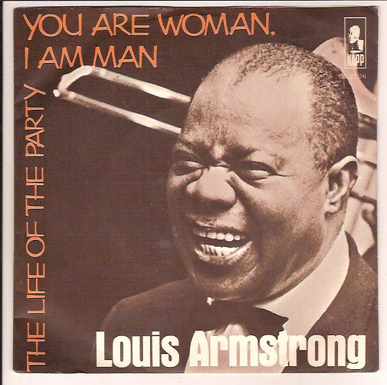 "LOUIS ARMSTRONG ""The life of the party"" (denm)"