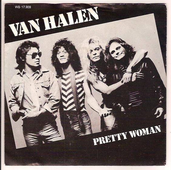 "VAN HALEN ""Pretty woman"""