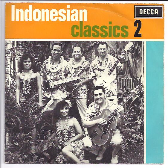 "GEORGE DE FRETES ""Indonesian Classics no. 2"" EP"