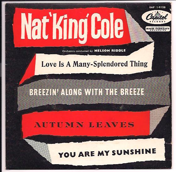"NAT KING COLE ""Love is a many splendored thing"" EP (denm)"