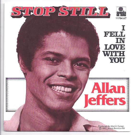 "ALLAN JEFFERS ""Stop still"""