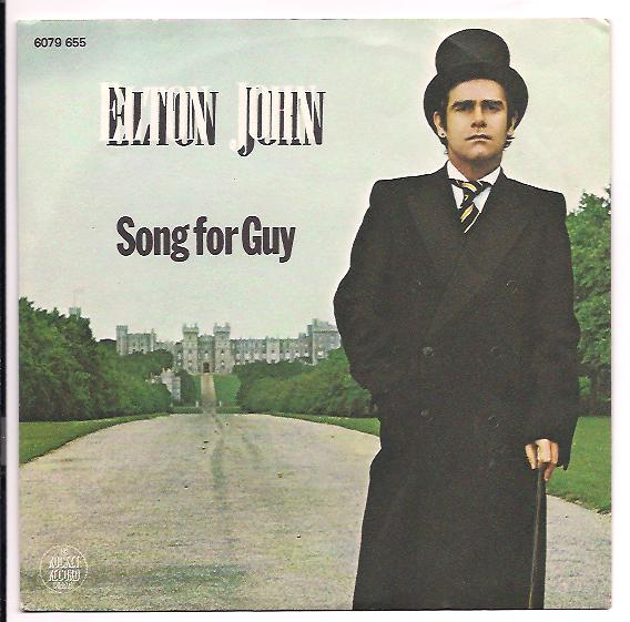 "ELTON JOHN ""Song for guy"""
