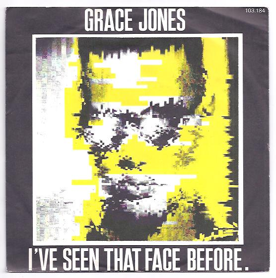 "GRACE JONES ""I've seen that face before"""