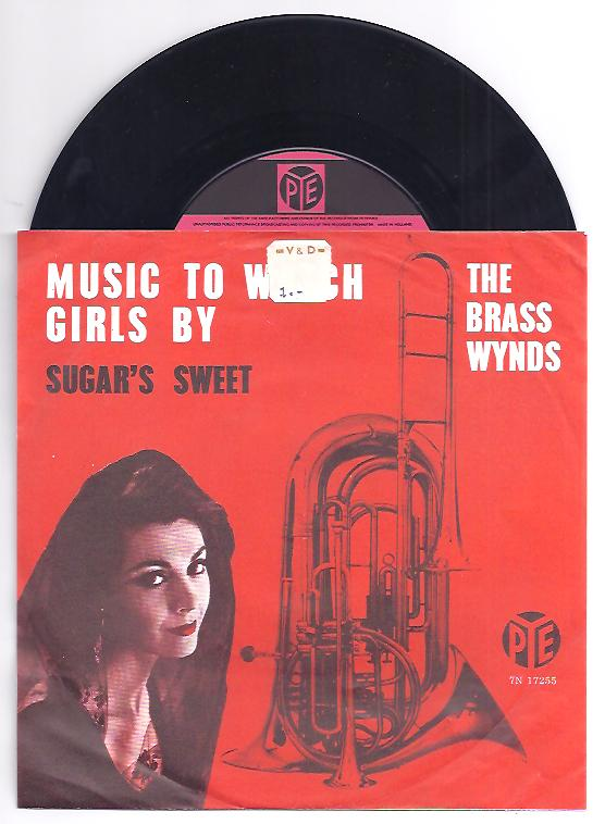 "BRASS WYNDS ""Music to watch girls by"""