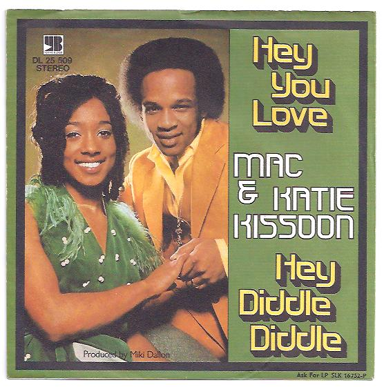 "MAC & KATIE KISSOON ""Hey you love"" (d)"
