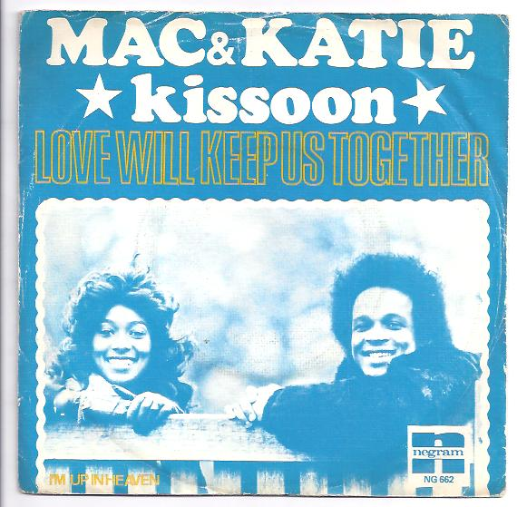 "MAC & KATIE KISSOON ""Love will keep us together"""