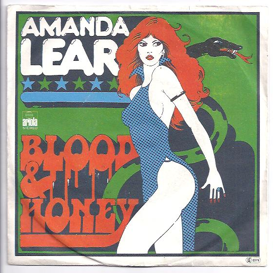 "AMANDA LEAR ""Blood & Honey"" (yougo)"
