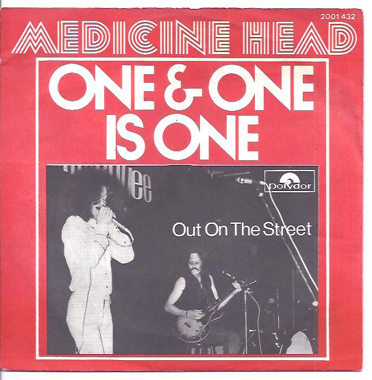 "MEDICINE HEAD ""One & one is one"" (b)"