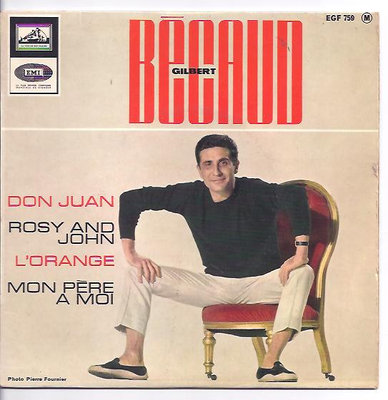 "GILBERT BECAUD ""Don Juan"" EP"