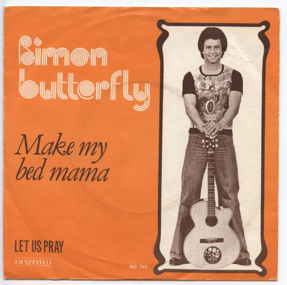 "SIMON BUTTERFLY ""Make my bed Mama"""