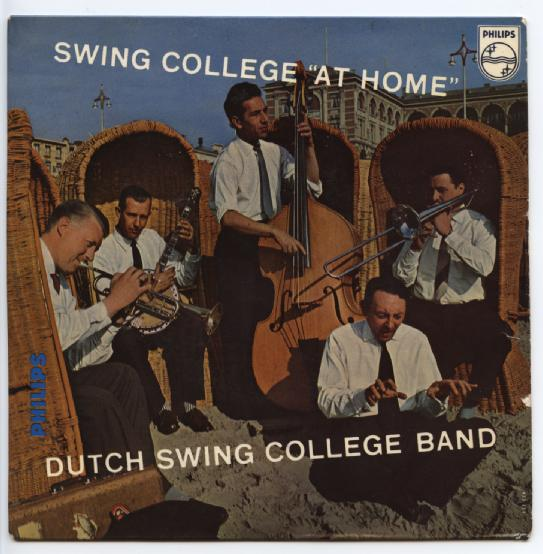 "DUTCH SWING COLLEGE BAND ""Swing college ""At Home"" EP"