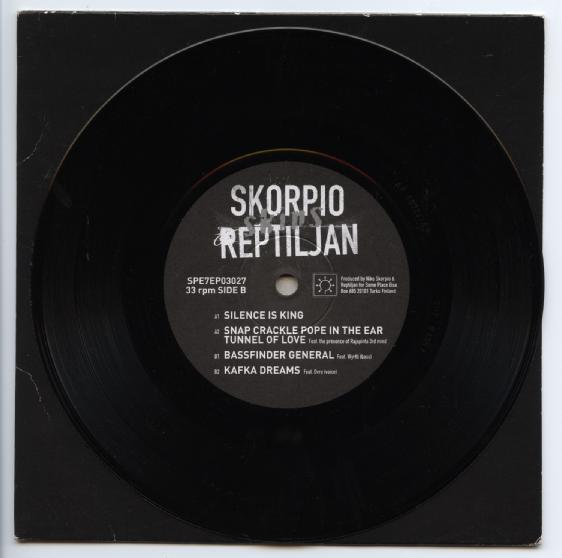 "SKORPIO REPTILJAN ""Silence is King"" EP"