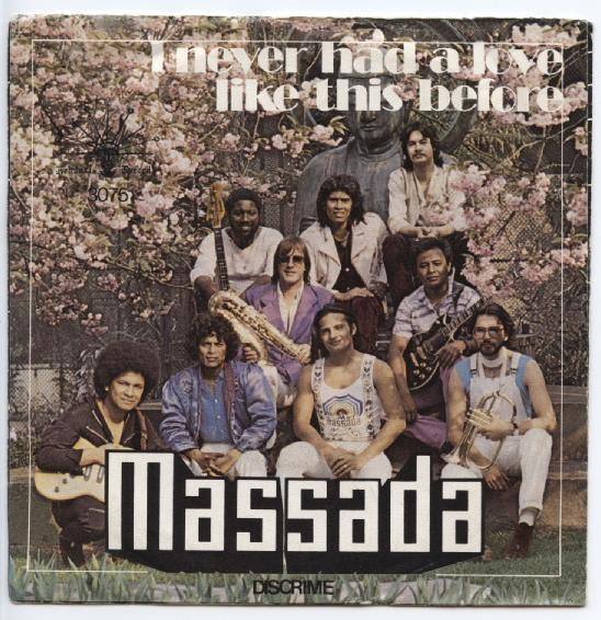 "MASSADA ""I never had a love like this before"""
