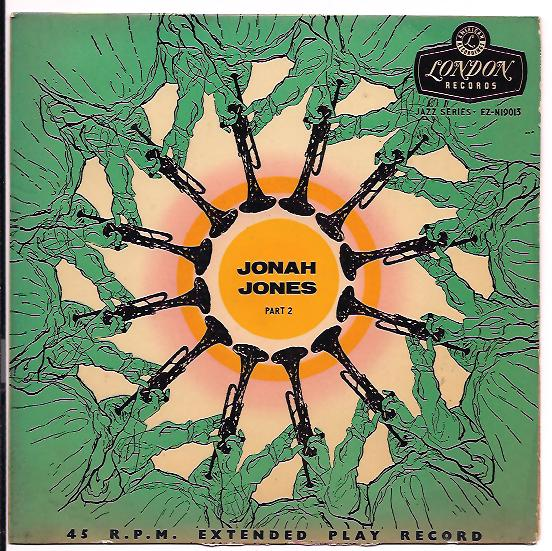 "JONAH JONES SEXTET ""Jonah Jones part 2"" EP"